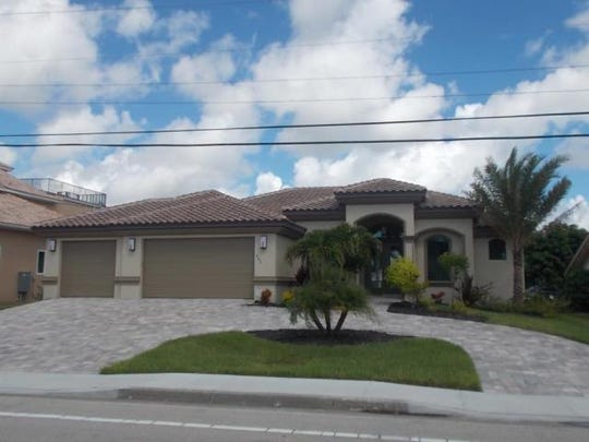 This home at  903 Lucerne Pkwy., Cape Coral recently sold.