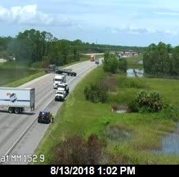 Leaking truckload of synthetic chemical styrene forces closure of I-75; northbound lanes remain closed