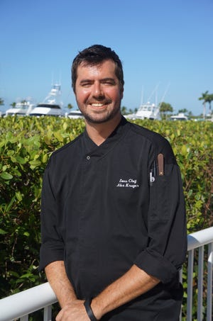 Alex Kruger Springer is the new sous chef at The Westin Cape Coral Resort.
