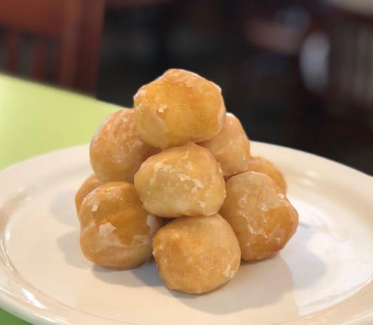 Bennett's Bites, the new doughnut holes from Bennett's Fresh Roast, are sold in bags of six for $2.50.