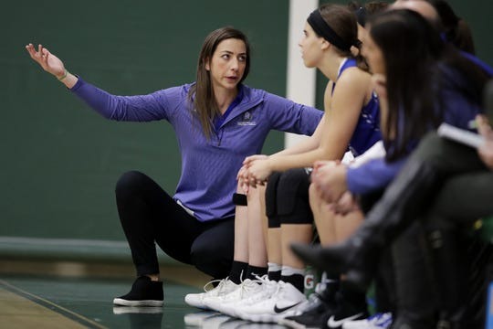 Green Bay Southwest coach Erin Barkley has been instrumental in the growth of the Purple Aces.