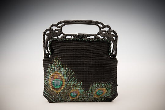 Purse by Deb Rades, one of the artists featured in the Door County Wearable Art Show held Aug. 18-19 at Sister Bay Village Hall.