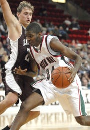 Former UWGB player Cordero Barkley has taken over as the program director for the Purple Aces.