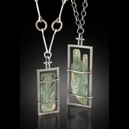 Jewelry by Steve Mitchell, one of the artists featured in the Door County Wearable Art Show held Aug. 18-19 at Sister Bay Village Hall.