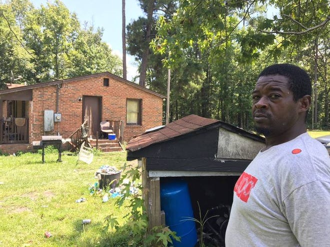 Michael Daugherty, 41, has lived in lower Richland all his life. His home, which is served by a well, is less than 2 miles from a nuclear fuel plant with a history of groundwater pollution.