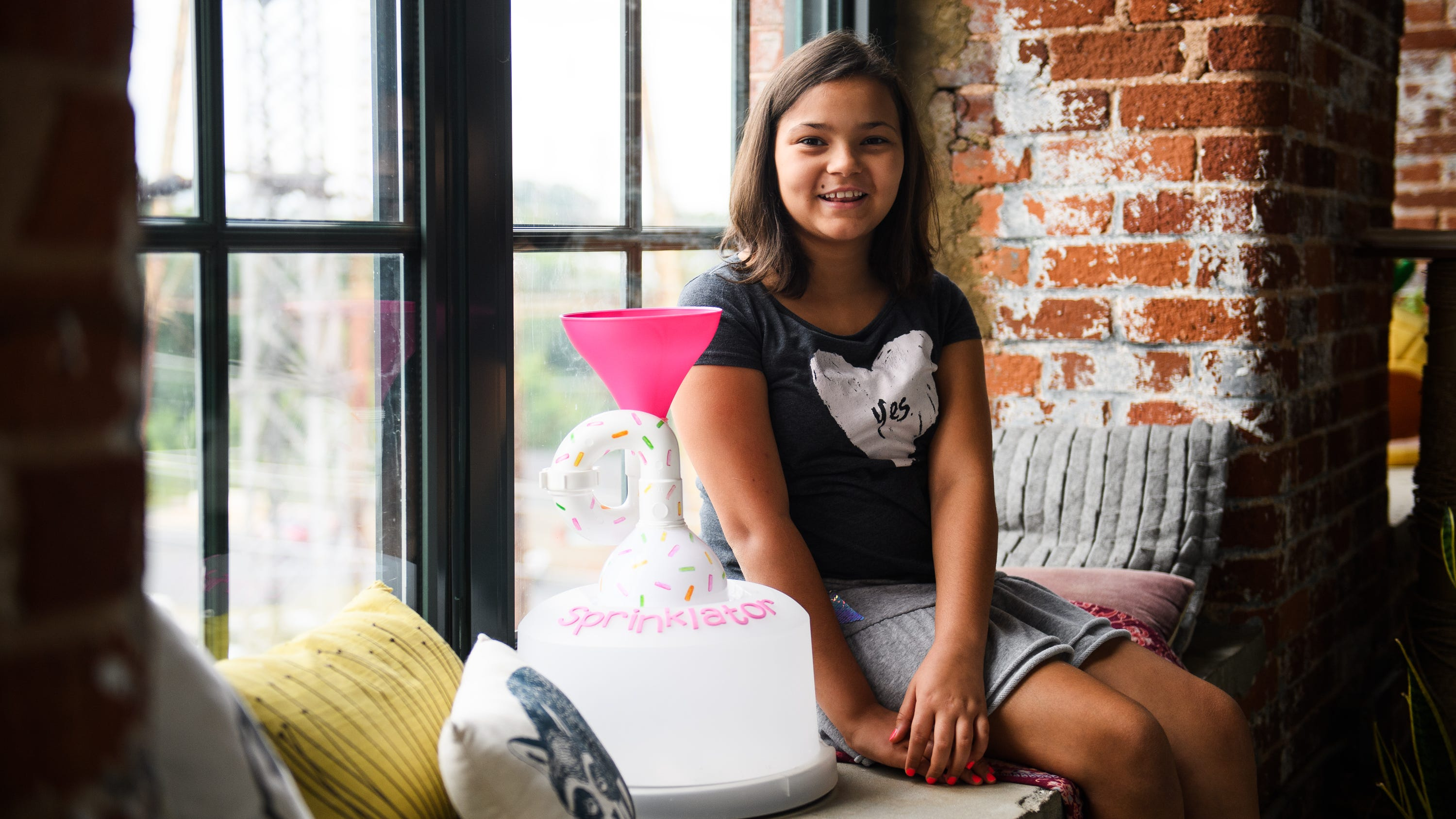 Greenville girl has more inventions than she showed on ...