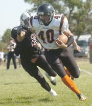 Chinook's Tyler Molyneaux gets to the edge for a big game in 2009.