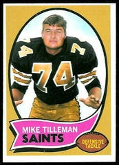 Mike Tilleman of Chinook played 11 seasons in the National Football League.