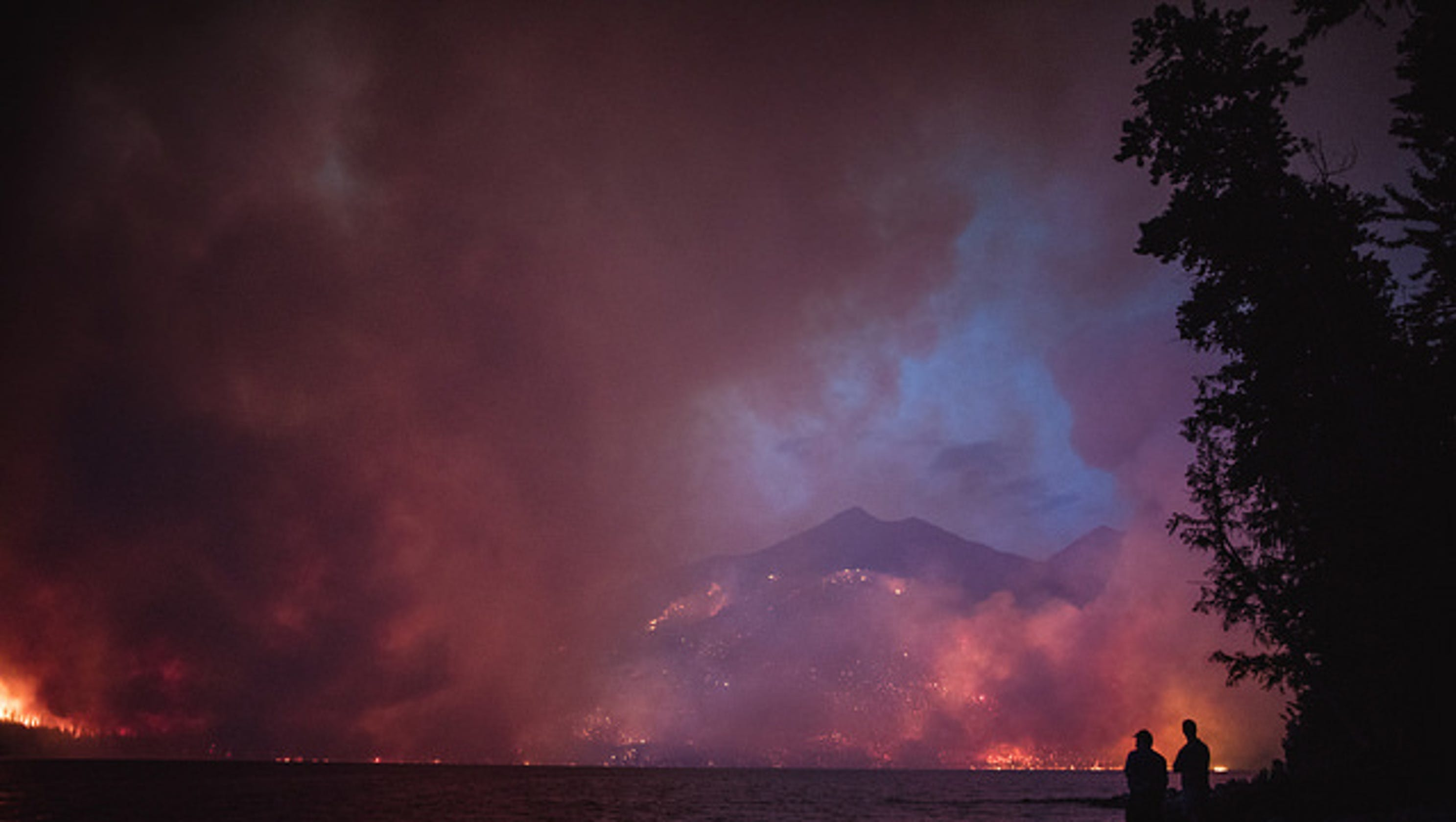 Fire In Glacier National Park Destroys Historic Buildings In Montana