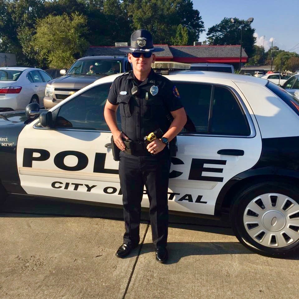 Petal police officer saves 5-year-old boy from drowning, says 'I'm not a hero'