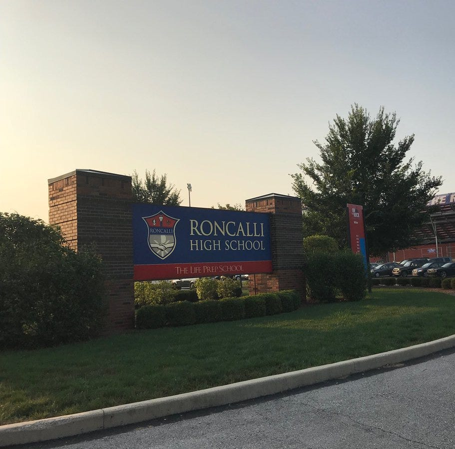 Roncalli board member resigns, voices support for guidance counselor whose job is on the line