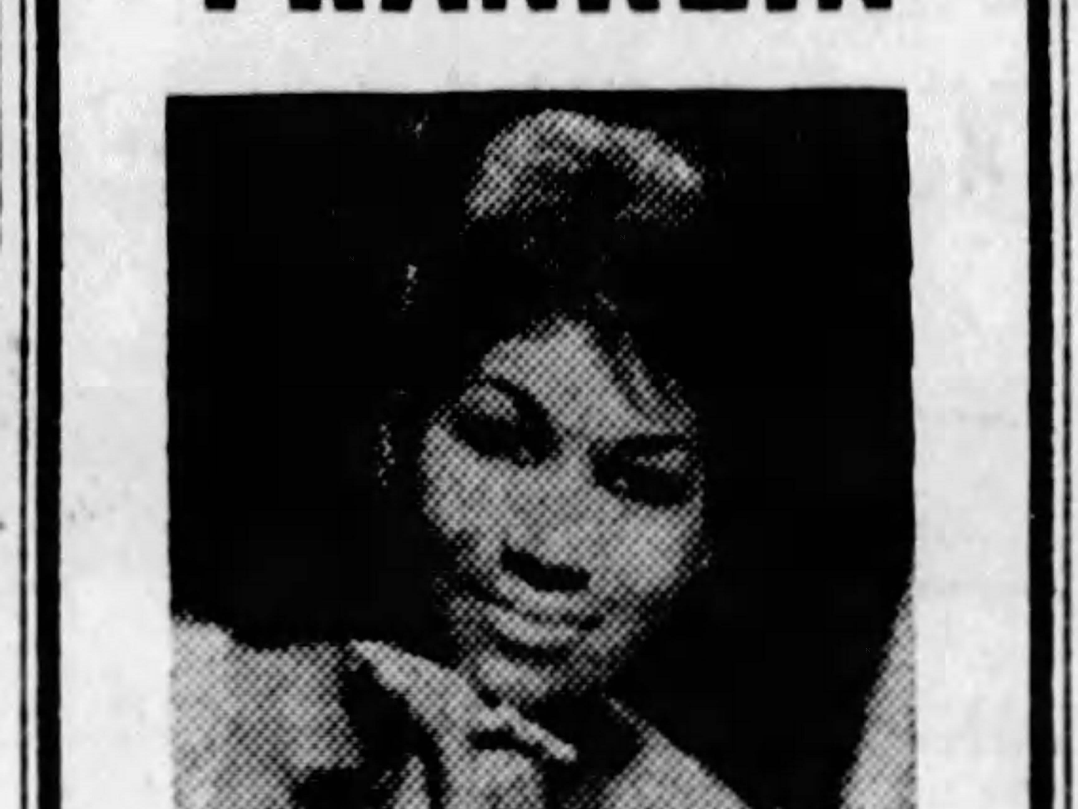 Aretha Franklin at the State Fairgrounds Coliseum with The Drifters in Nov. 1968.