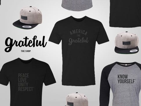 Get 20% Off The Grateful Shop
