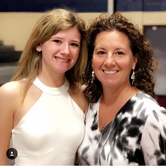 Shelly Fitzgerald (right) with niece Haley Fitzgerald.