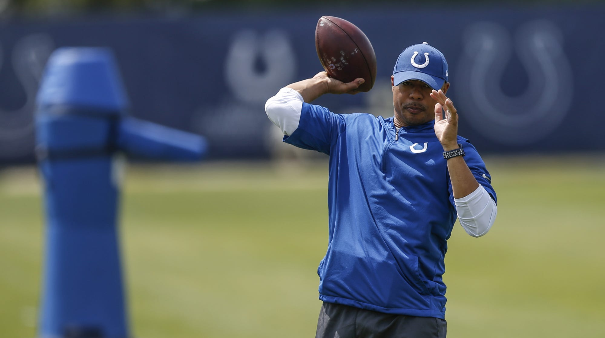 Indianapolis Colts assistant quarterbacks coach...