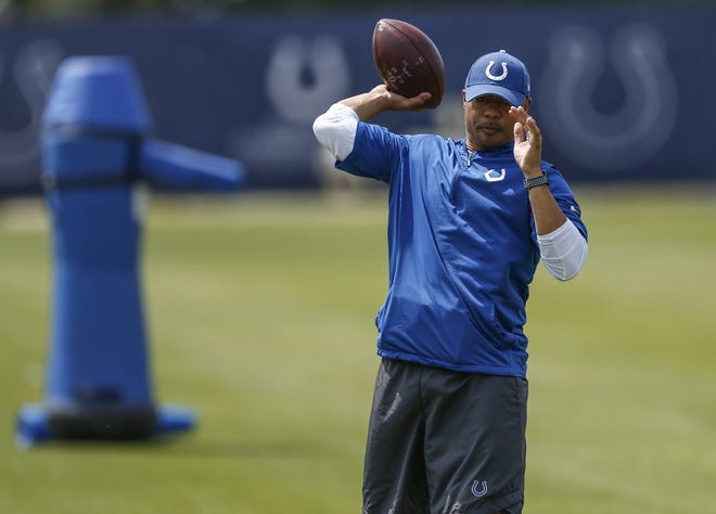 Indianapolis Colts assistant quarterbacks coach Marcus Brady is impressing the boss.