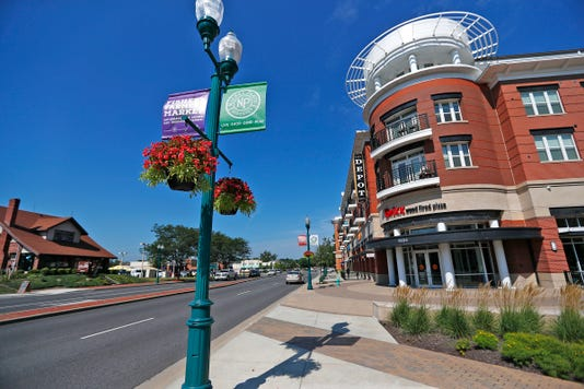 Downtown Fishers Includes Housing Government Offices Businesses
