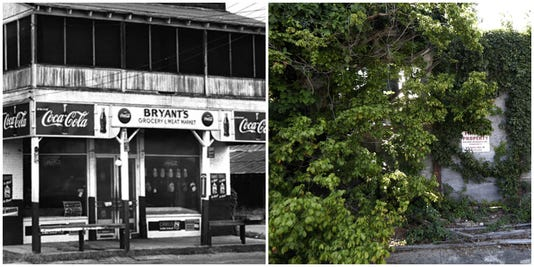 Bryant's Grocery & Meat Market 1955 And Today