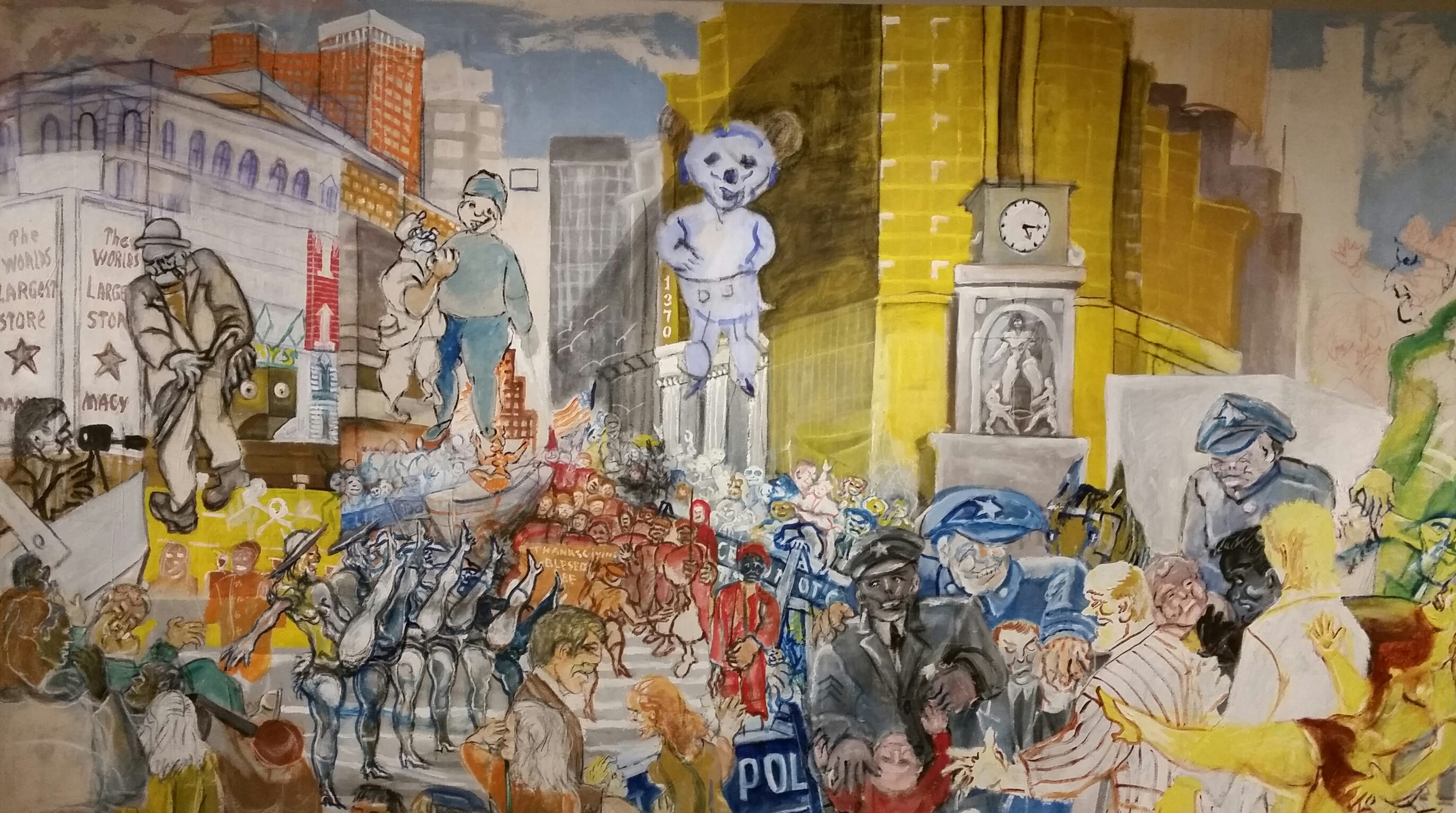 knoxville native african american artist joseph delaney has kma show