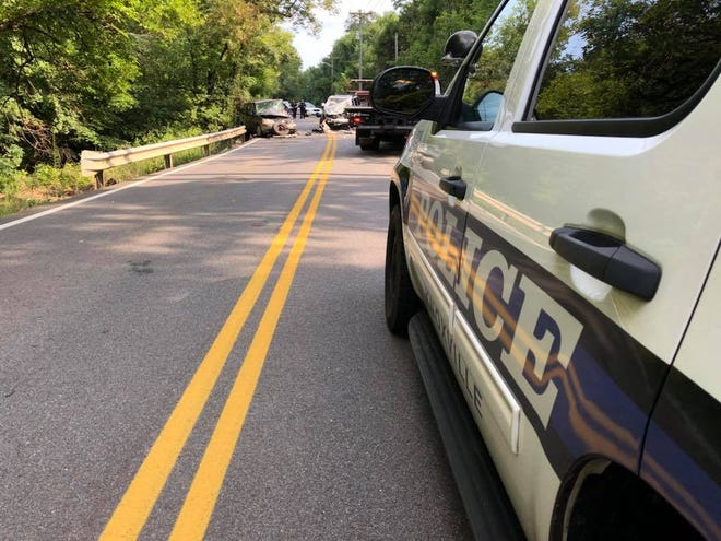 Knoxville police responded to a crash at Loves Creek Road near Buffat Mill Road on August 13, 2018.