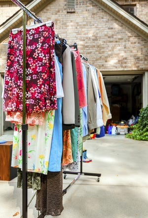 Garage sales are helpful before moves to lighten the load on the way to the new home and get a little cash along the way.