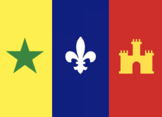 Second draft of new Acadiana flag
