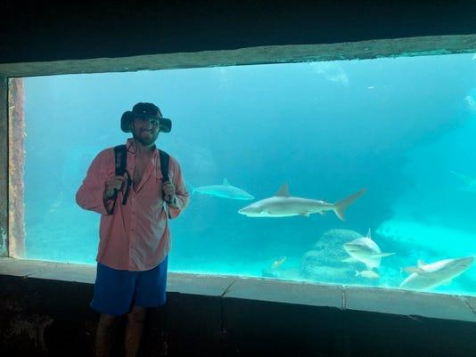 Chris Hendrick Atlantis aquarium
