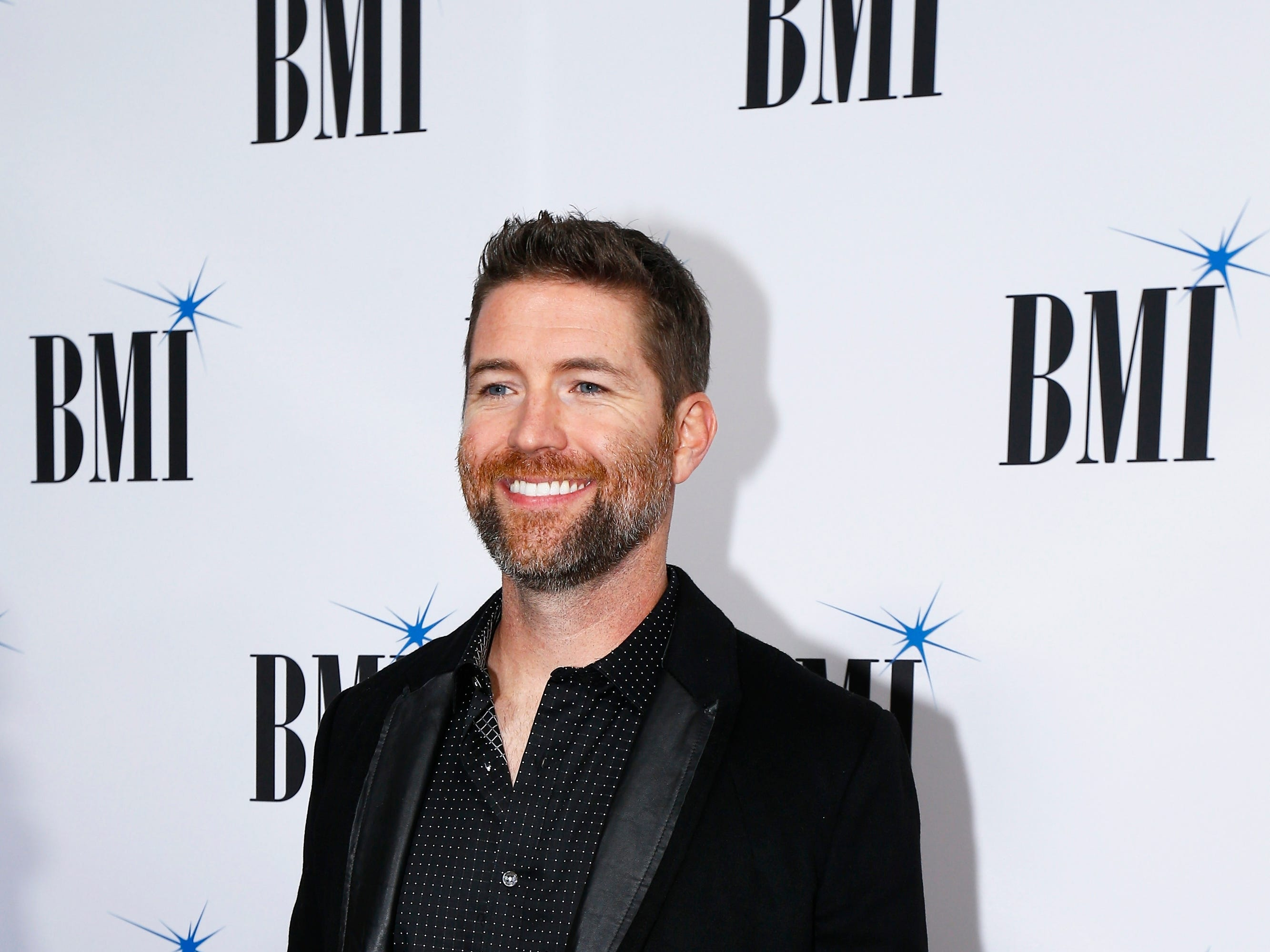 Josh Turner arrives at the BMI Awards at BMI Nashville on Tuesday, Nov. 7, 2017, in Nashville, Tenn. (Photo by Wade Payne/Invision/AP)
