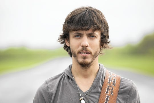 Country singer Chris Janson lights up Centene Stadium Wednesday as part of the Summer in September event.