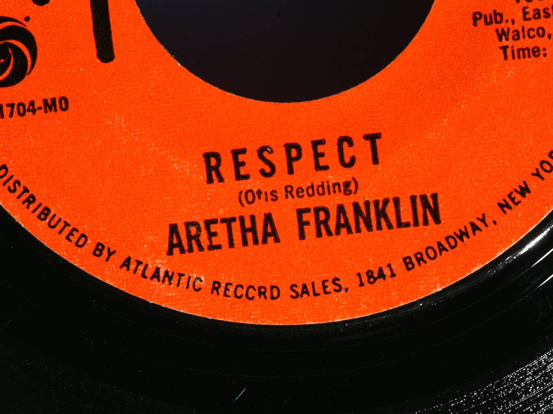"""2007 marked the 40th anniversary of Aretha Franklin's Billboard hit """"Respect."""""""