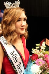 Sarah Perkins 16, from North Union High, Miss Teen Queen