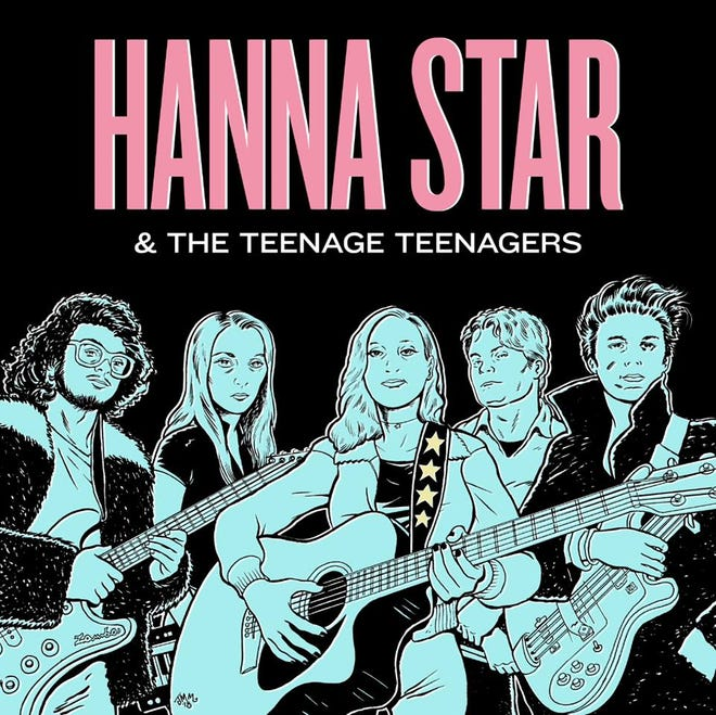 Hanna Star releases her debut album Friday at Railgarten.
