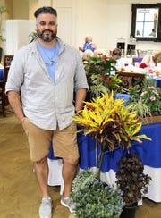 August guest speaker Mike Alfonso from Driftwood Garden Center.