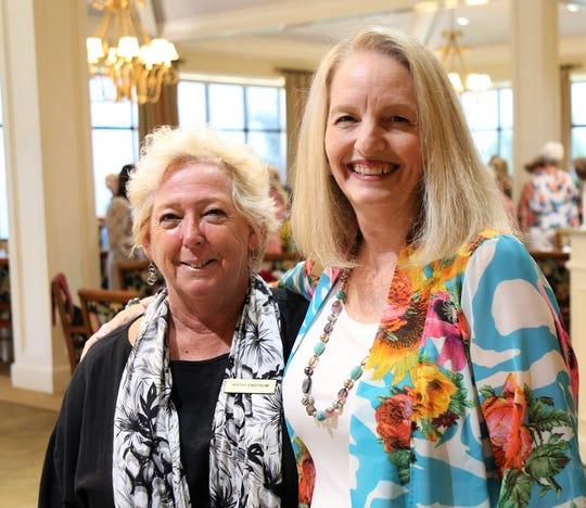 Kathy Enstrom and Jill Yris.