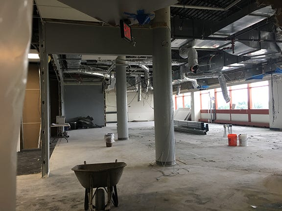 Renovation work has been going on at Waukesha County Technical College this summer ahead of the new school year.