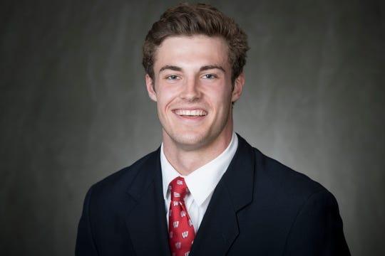 University of Wisconsin linebacker Griffin Grady.