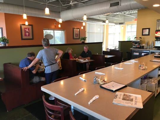 The Crossings is open for breakfast and lunch Monday - Saturday.