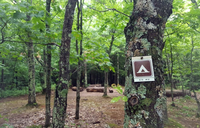 Porcupine Mountains Wilderness State Park campground in Ontonagon County was shut down Wednesday by the Michigan Department of Natural Resources.