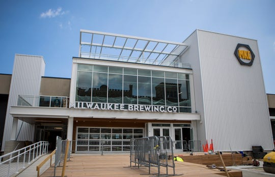 The new MKE Brewing will officially open to the public on Sept. 15 and 16.  The new brewery, 1128 N. 9th St., shares space with Glass + Griddle restaurant and beer hall and includes a rooftop patio overlooking the city.