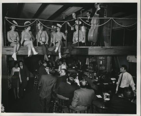 Nauti-Gal restaurant in Milwaukee, 1967