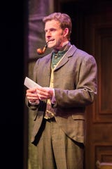 "The game's afoot for Brian J. Gill in ""Sherlock Holmes and the Jersey Lily,"" performed by Milwaukee Chamber Theatre."