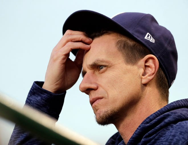 Manager Craig Counsell and the Milwaukee Brewers have eight games remaining against their NL Central archrival, the Chicago Cubs.