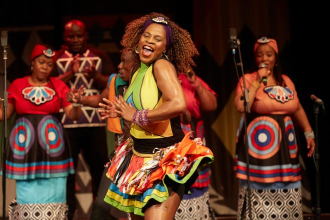 The Soweto Gospel Choir sings Nov. 15 at the South Milwaukee Performing Arts Center.