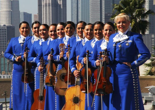 Mariachi Reyna de Los Angeles performs Aug. 25 at Milwaukee's Mexican Fiesta.