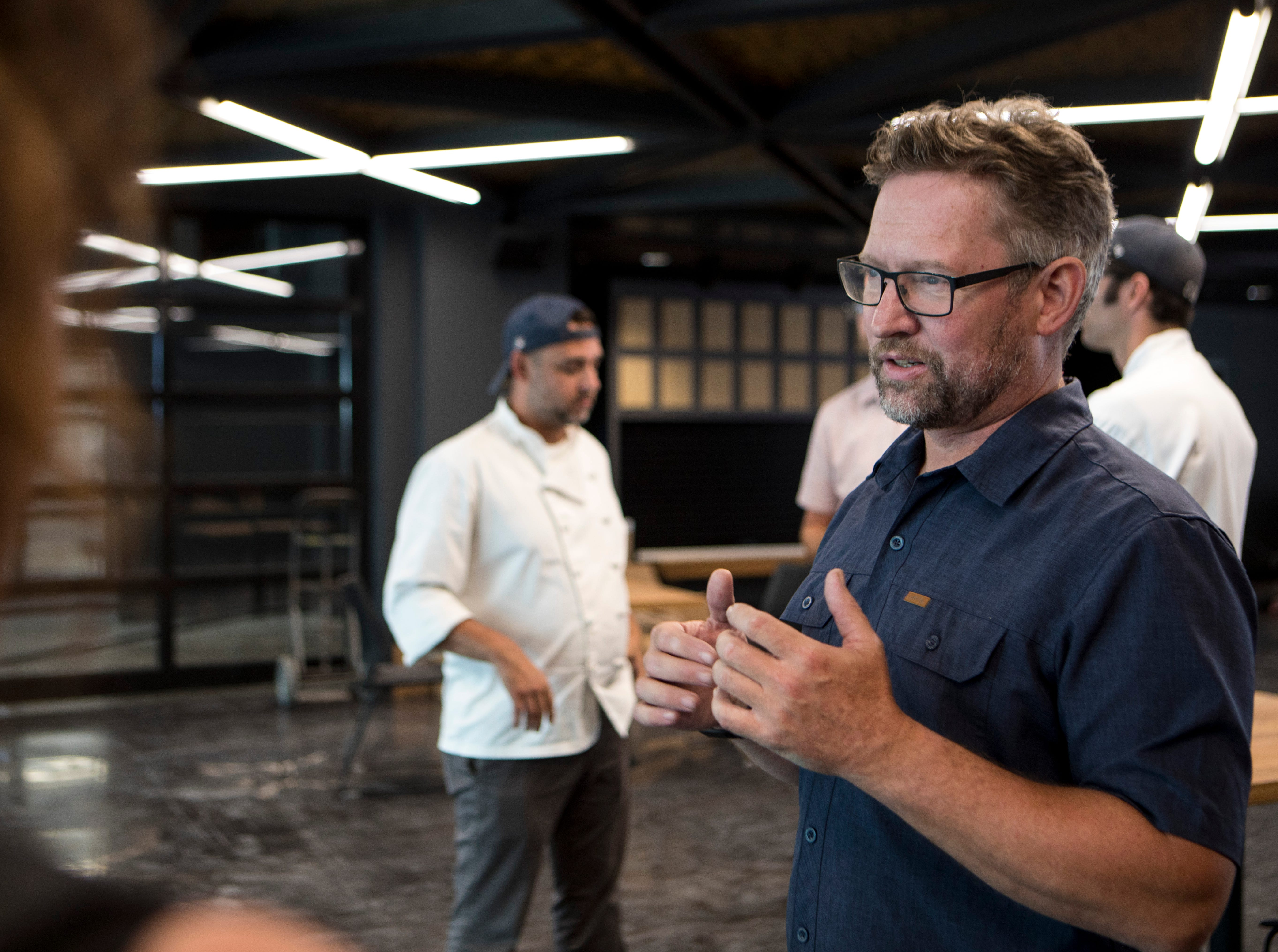Jim McCabe, founder of MKE Brewing, talks about the technology and the excitement of opening a new brewery at 1128 N. 9th St. MKE Brewing started life as the Milwaukee Ale House which was followed by the 2nd Street location of MKE Brewing. The new brewery will hold its grand opening on Sept. 15.