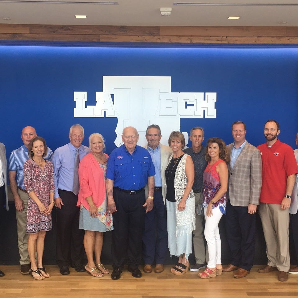Leo Sanford establishes largest athletic endowed scholarship at Louisiana Tech