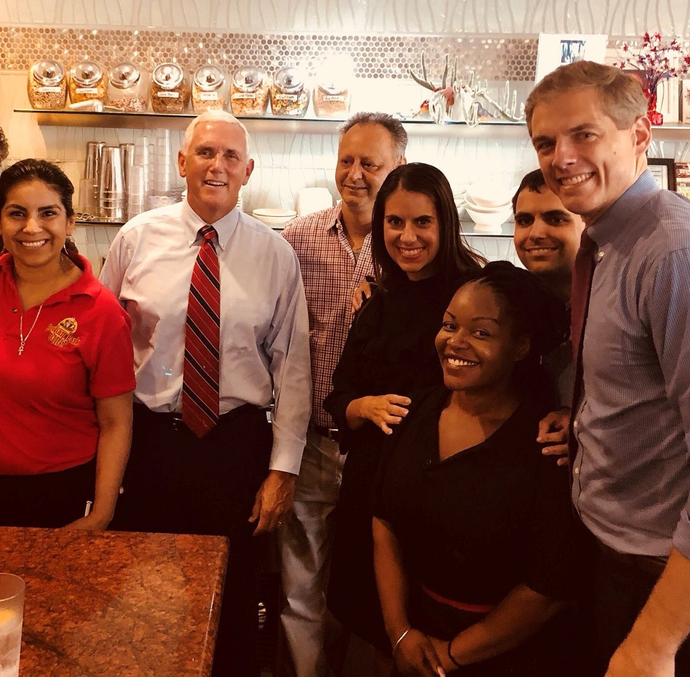 New Jersey diner taken by surprise by Secret Service, Vice President Pence's visit