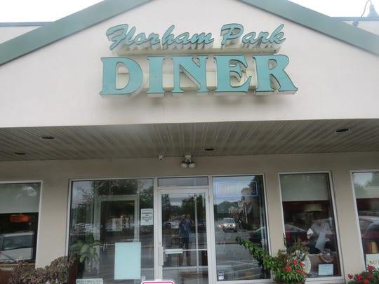 Florham Park Diner entrance. August 13, 2018
