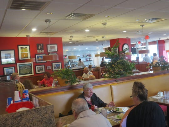 Lunchtime at the Florham Park Diner. August 13, 2018