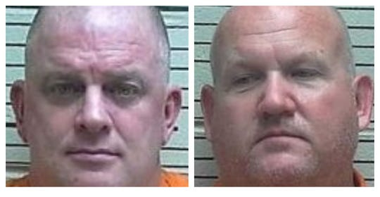 From left: Townson, McDaniel. The two were indicted in a 2015 incident where they were charged with breaking into a home in the 1100 block of Honeysuckle Drive.